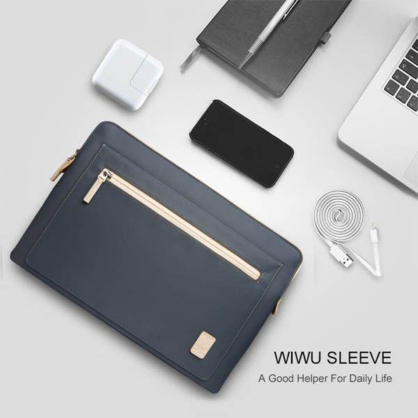Túi Chống Sốc laptop, Macbook WiWu Athena Sleeve (T044)