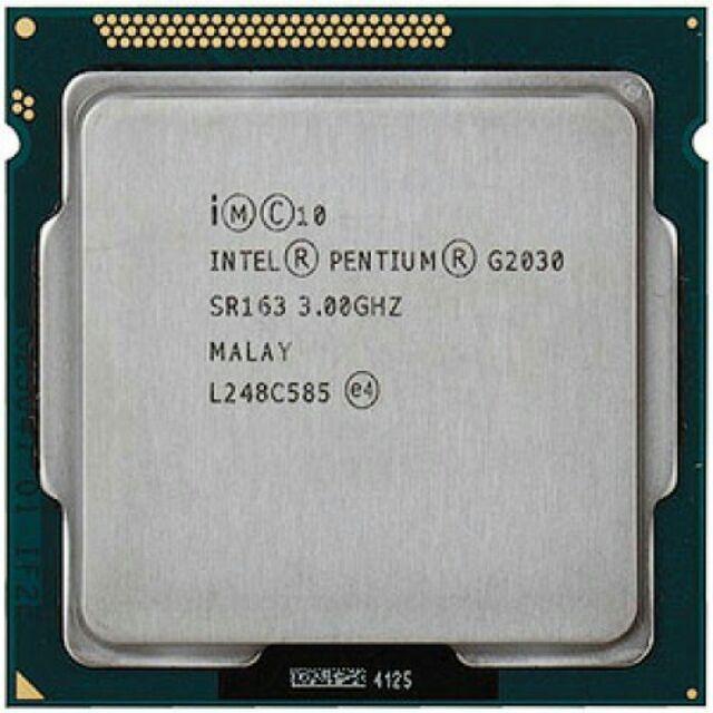 Cpu intel pentium g2030