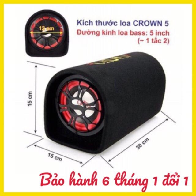 loa crown 5 BH 6 tháng đổi mới