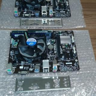 ComBo main Gigabye H81 + chíp G3240+ Ram 2G