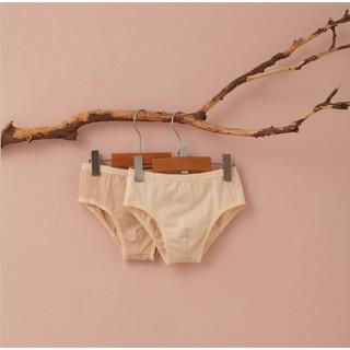 Set 2 chiếc quần lót bé trai dáng tam giác sợi bông hữu cơ - Organic and Natural Life by Mimi
