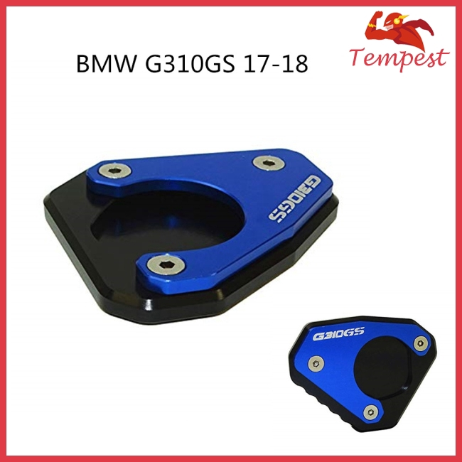 Professional Motorcycle Kickstand Foot Side Stand Extension Pad for BMW G310GS 17-18