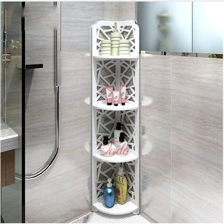 Kệ góc nhà tắm 4 tầng đa năng chống nước 80cm x 20cm x 30cm – giao ngẫu nhiên
