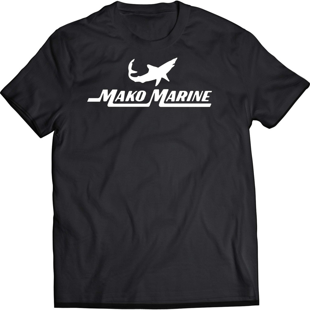 Mako Marine Boat Black Men'T-Shirt Father's Day Gift