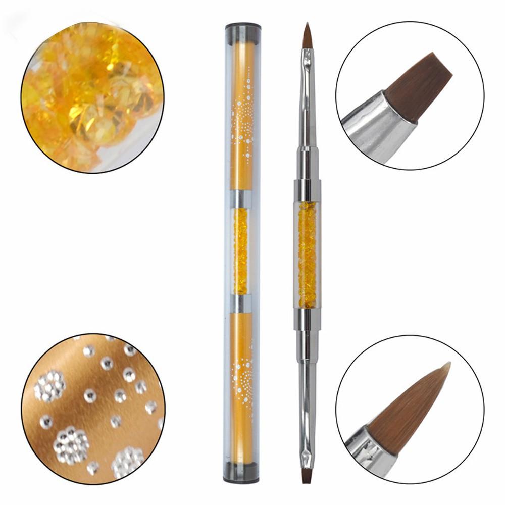 qqline0  Gel Nail Brush Nail Tools Brush Set Flower Pen Fan Pen Dizzy Pen