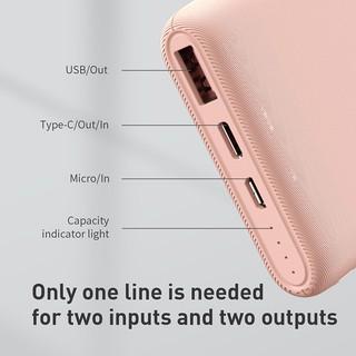 Hình ảnh Sạc dự phòng Baseus 18W 10000mAh tốc độ nhanh kết nối cổng USB3.0 cho iPhone Xiaomi-2