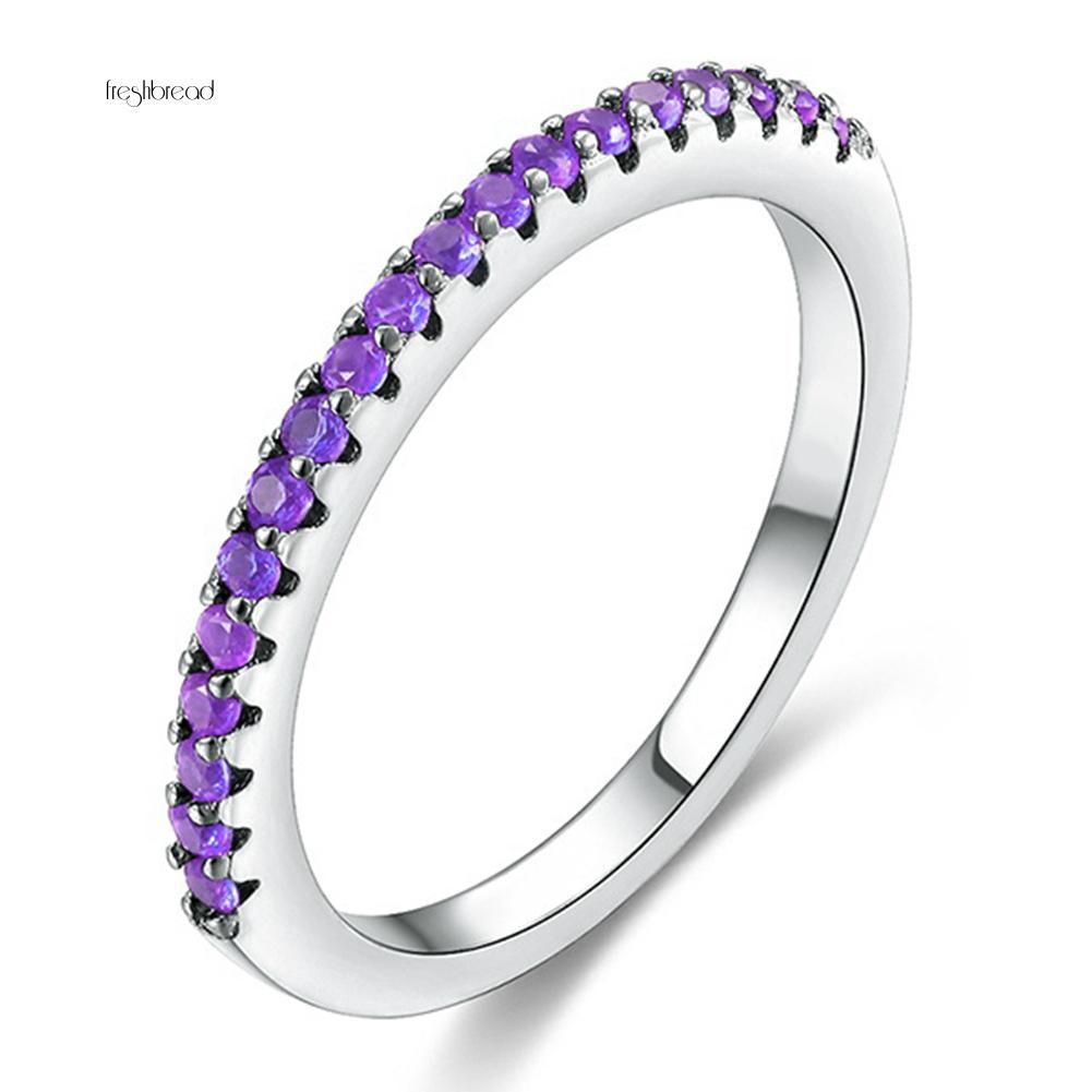 Nhẫn đính đá phong cách sang trọng thanh lịch dành cho nữ