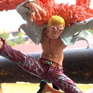 Mô hình One Piece – Mô hình Luffy – Doflamingo – Marco