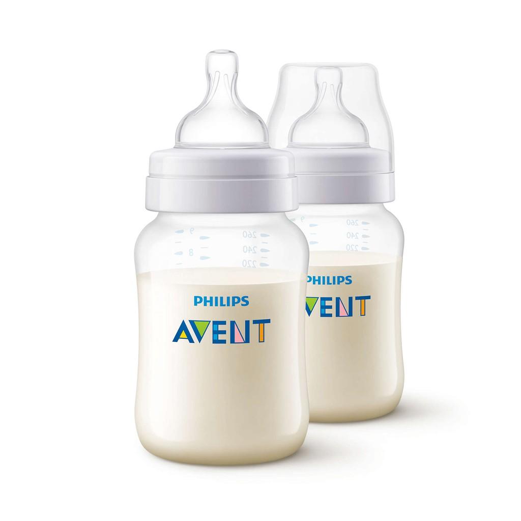 Bộ 2 Bình sữa nhựa Philips Avent SCF563/27 BPA Free 260ml