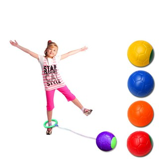 Jumping Ball Fitness Toys Jump Ring Dance Ball Single Foot Shot Bouncing Ball
