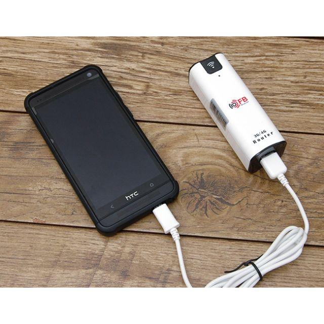 Bộ phát wifi bằng sim 3G FB-Link BW07 kiêm pin dự phòng 2.200mAh