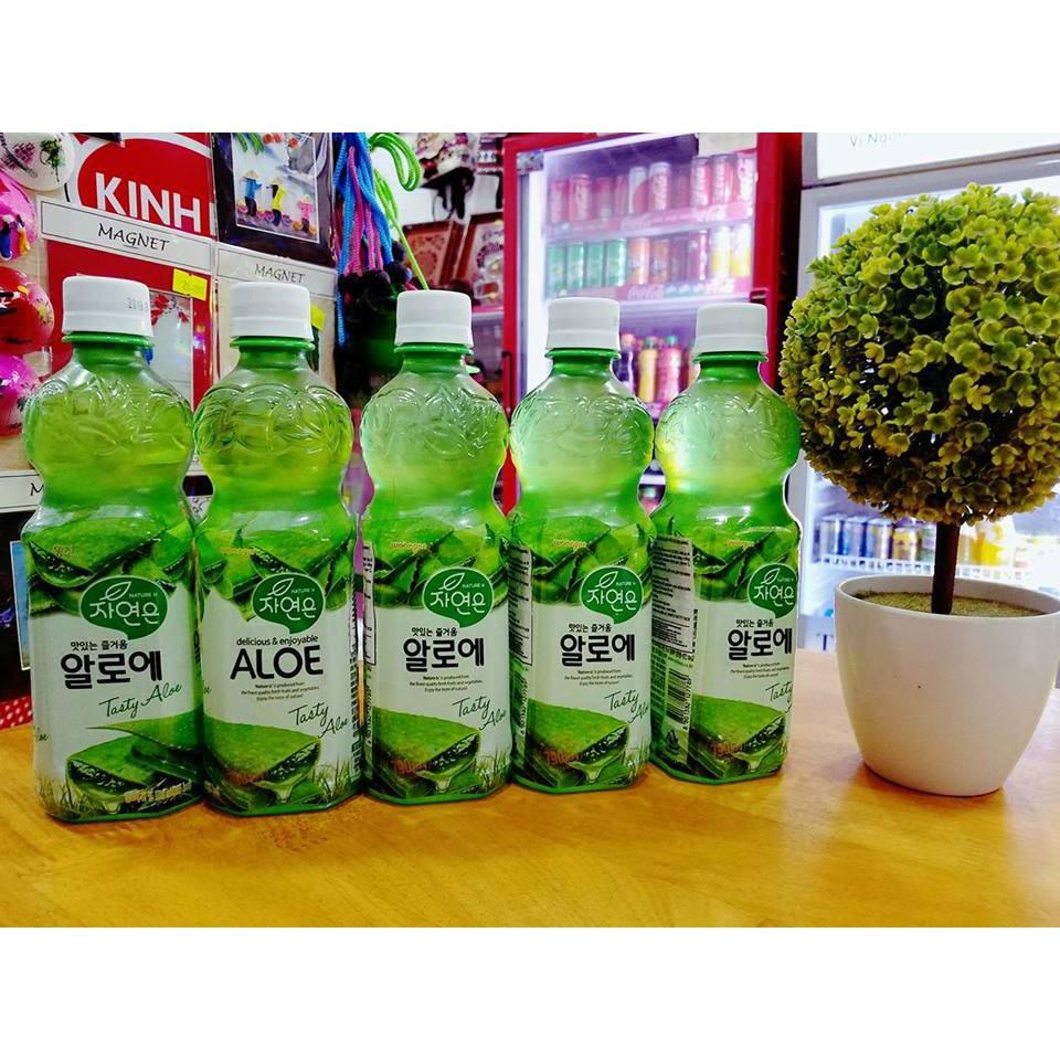 Nước nha đam (lô hội) Hàn Quốc chai 500ml