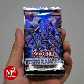 Túi thẻ bài Rising Rampage Yugioh bài thật – 9 lá bài tem vàng mỗi pack