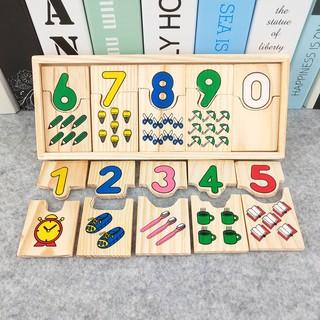 bộ đồ chơi tập tính toán cho bé