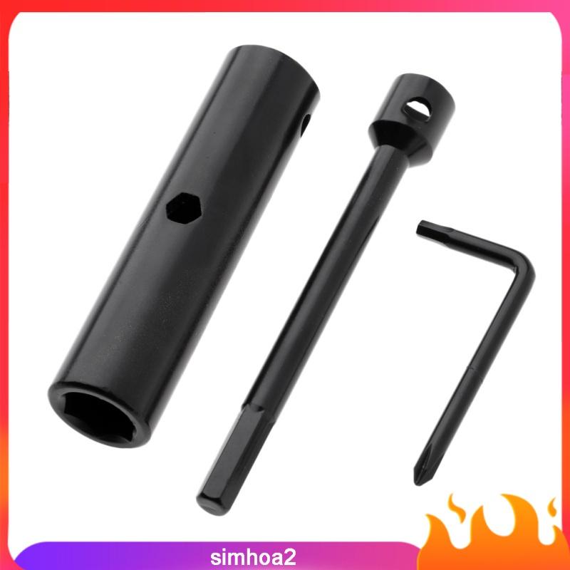[SIMHOA2] All-In- Skate Tool Dismountable Portable Skateboard T Tool Accessories