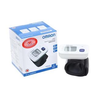 Máy đo huyết áp cổ tay Omron HEM-6161, dễ dàng thao tác và thuận tiện, Hem-6161 bộ nhớ 30 lần thumbnail