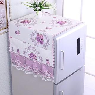 Khăn Lau Tủ Lạnh Họa Tiết Hoa Thời Trang