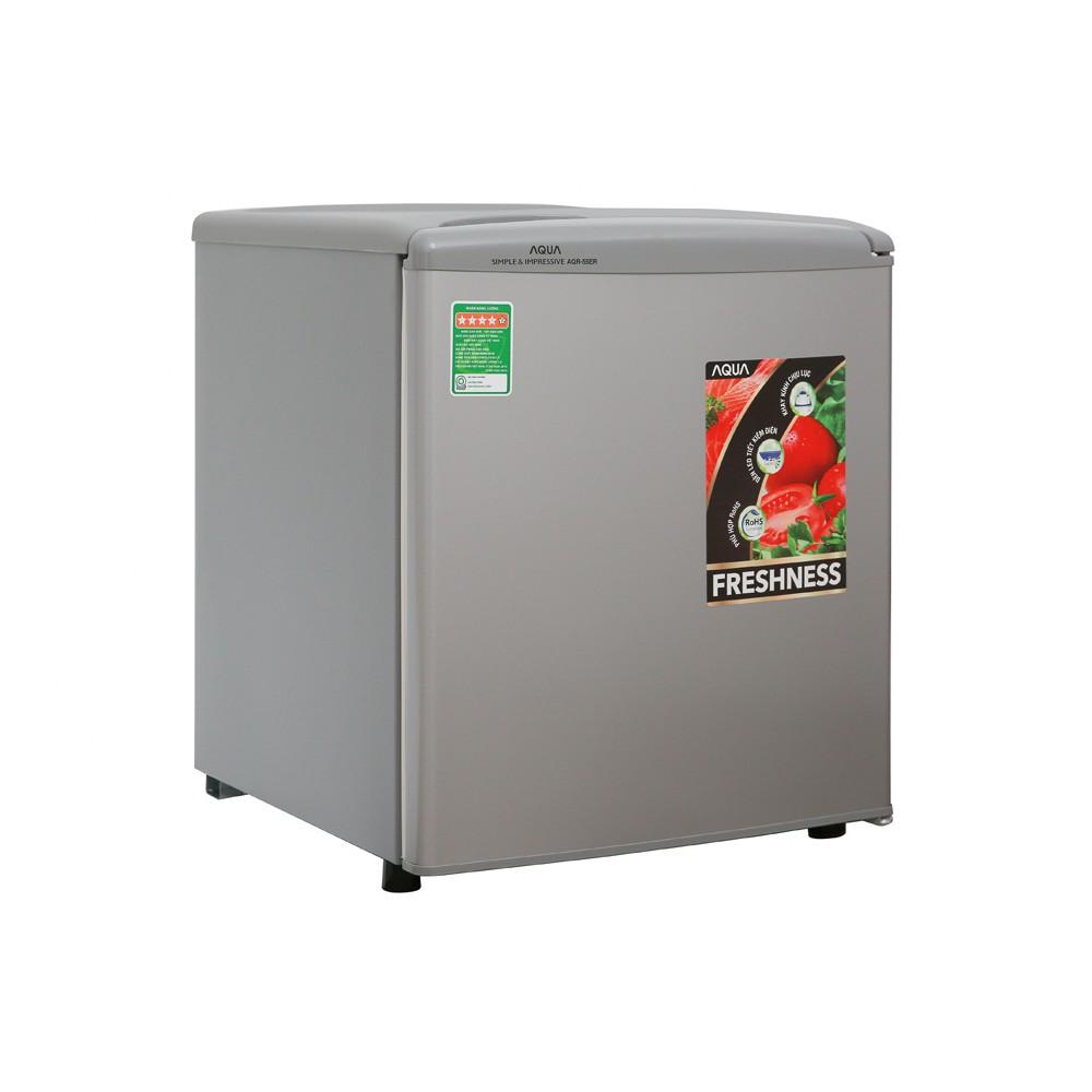 MIỄN PHÍ VẬN CHUYỂN - Tủ lạnh Aqua 50 lít AQR55ER - 55ER Hàng chính hãng