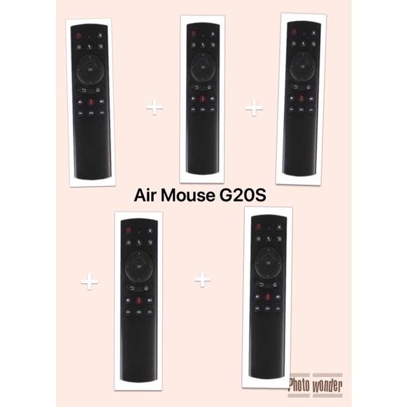 [Mã 267ELSALE hoàn 7% đơn 300K] Combo 5 điều khiển chuột bay G20S air mouse