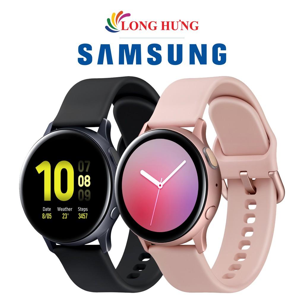 Đồng hồ thông minh Samsung Galaxy Watch Active 2 40mm viền nhôm dây  Silicone tại Bến Tre