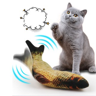 Đồ chơi trẻ em cá nhảy điện tử thông minh dùng cho bé trai gái, mèo con