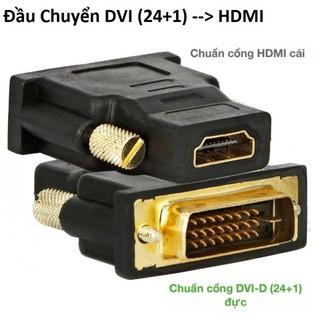 Đầu Chuyển DVI (24+1) ra HDMI