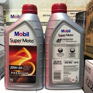Nhớt Mobil SuperMoto 20w50/15w40 1L