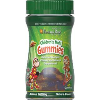 Viên nhai Vitamin va khoa ng châ t vi hoa qua cho trẻ puritan s pride Children s Multivitamins Gummies 60 viên 2