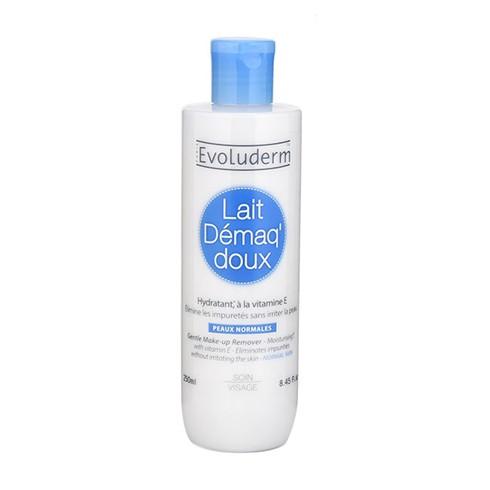 Sữa Tẩy Trang Evoluderm Lait Démaq' Doux 250ml