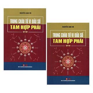 Bộ sách Trung Châu Tử Vi Đẩu Số Tam Hợp Phái (Bộ 2 Cuốn)