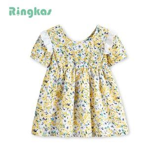 Đầm voan váy hoa váy bé gái đầm cho bé gái size cho bé gái 1 tuổi size cho bé gái 3 tuổi size cho bé gái 4 tuổi size cho bé gái 6 tuổi