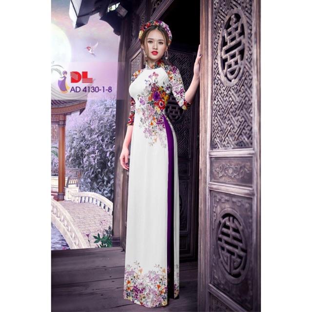 Vải áo dài in 3D - 3033536 , 369068328 , 322_369068328 , 230000 , Vai-ao-dai-in-3D-322_369068328 , shopee.vn , Vải áo dài in 3D