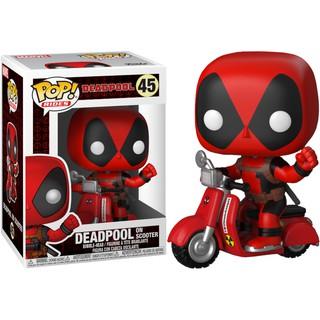 Mô Hình Nhân Vật Funko POP Riders: Deadpool with Scooter