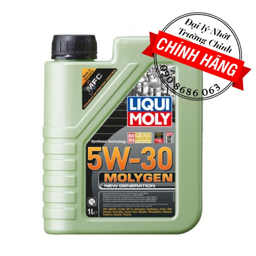 Nhớt Liqui Moly 5W30 Molygen 1L cho xe tay ga