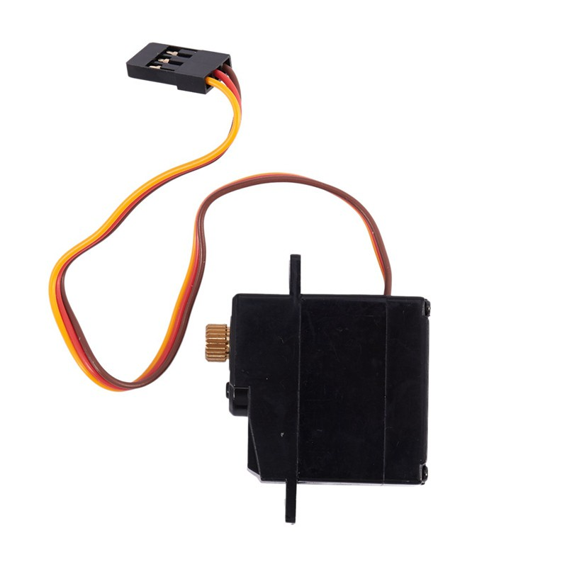 for Wltoys 144001 124019 124018 A959-B A959 RC Car Parts Upgrade Three Wire Metal Gear Brushless Servo