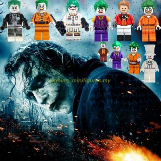 Compatible With Lego Minifigures DC Harley Quinn Joker Batman Superman Super Heroes Building Blocks Toys For Children