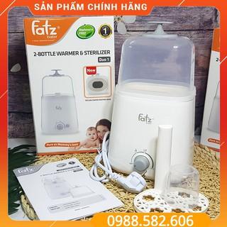 [BAO BÌ MỚI] Máy Hâm Bình Sữa Và Tiệt Trùng 2 Bình Cổ Rộng Fatz Baby Thế Hệ Mới - 8809224880199 thumbnail