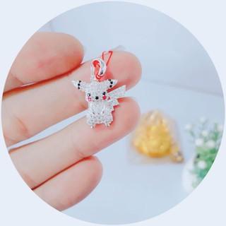 Mặt Pikachu xinh xắn – Bạc 925 Cao cấp