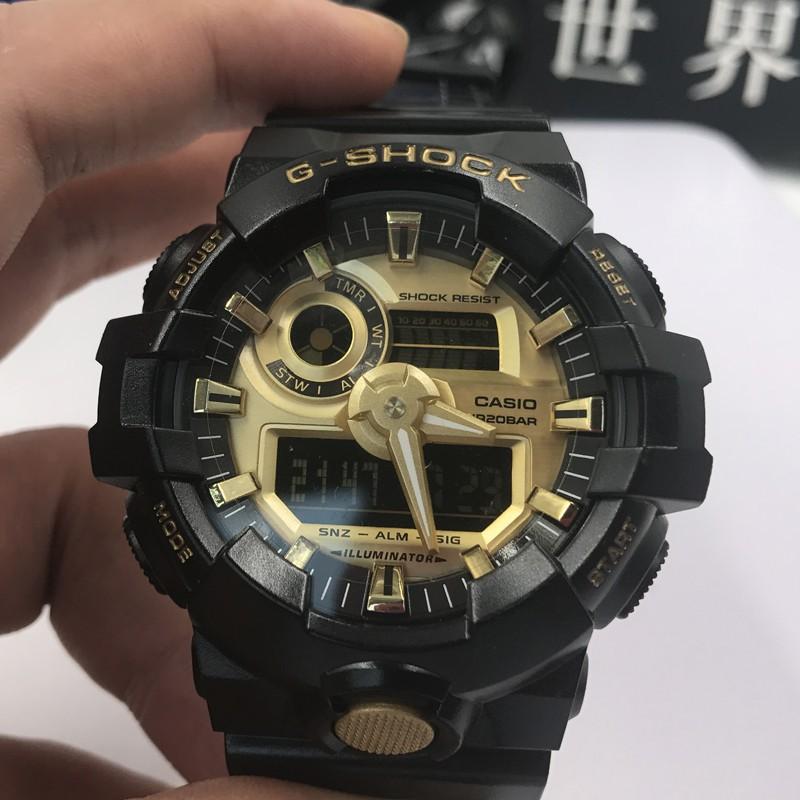 【in stock Original Casio Watch g-shock Electronic Wrist GA-700 Men Women Sports Watch