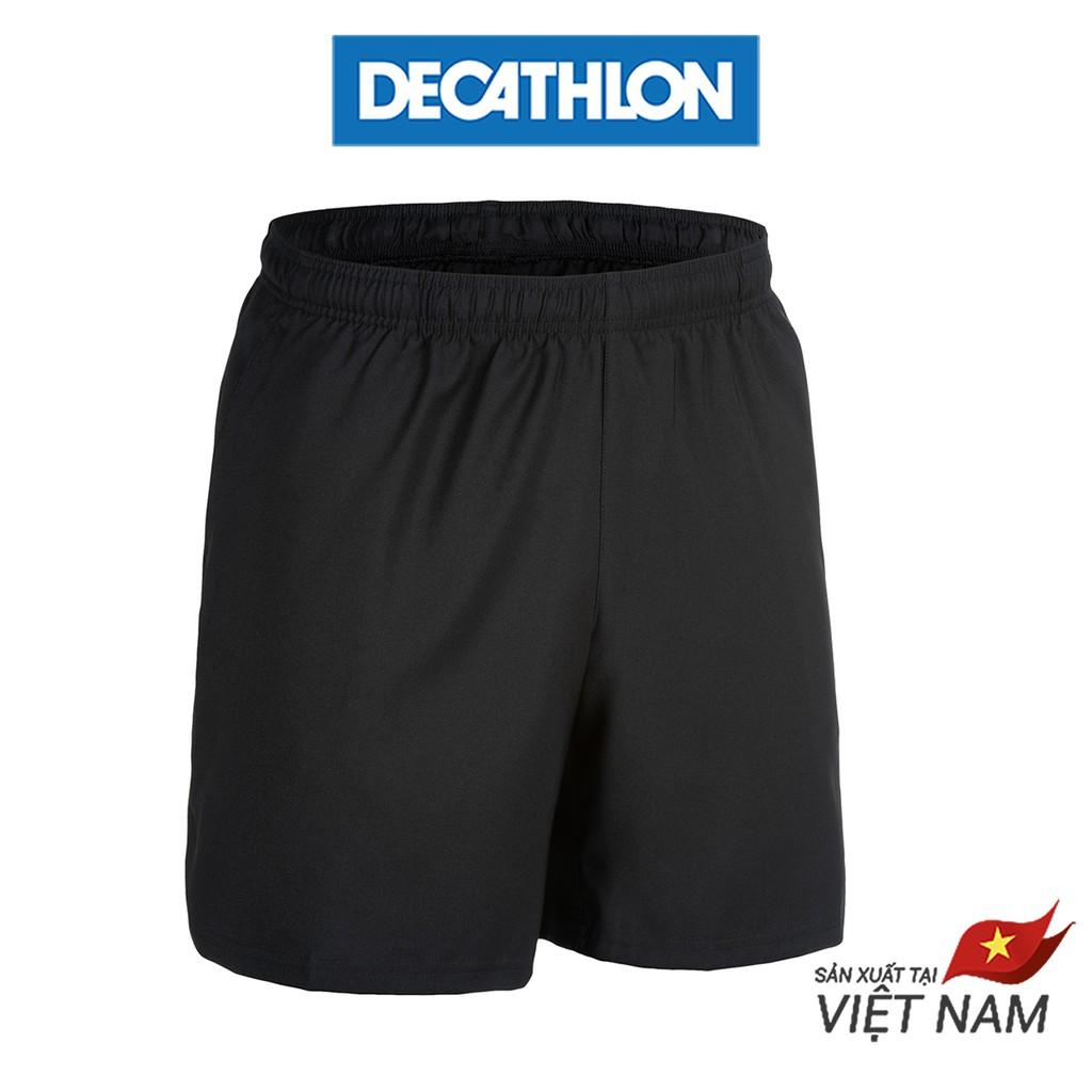 Quần Short Nam Tập Gym Domyos FST 100 - Đen