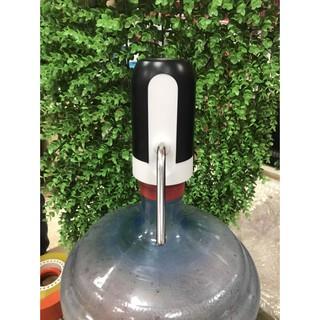 Máy bơm hút nước mini tự động từ bình, vòi hút xăng bơm rượu tự động thumbnail