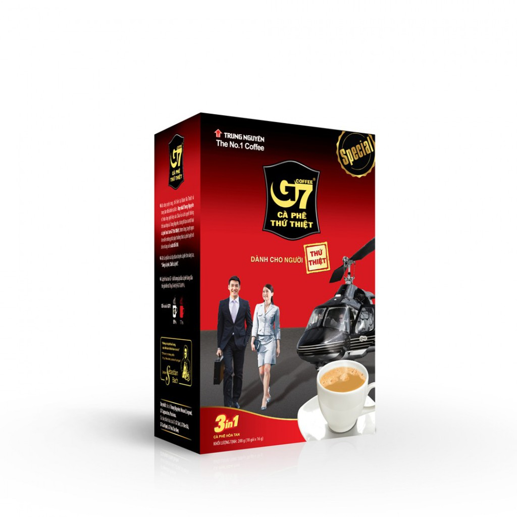 Cà phê Trung Nguyên G7 Hòa tan 3 in 1 (18 gói/hộp) - 2988600 , 1007371241 , 322_1007371241 , 40000 , Ca-phe-Trung-Nguyen-G7-Hoa-tan-3-in-1-18-goi-hop-322_1007371241 , shopee.vn , Cà phê Trung Nguyên G7 Hòa tan 3 in 1 (18 gói/hộp)