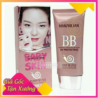 [Nhập mã SFP-55008 giảm giá] Kem Che Khuyết Điểm, Kem Nền BB Cream Baby Skin Ốc Sên Xuất Xứ Hàn Quốc Không Kích Ưng Da thumbnail