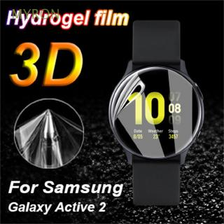MYRON Clear Soft Explosion-proof Guard Smart Watch TPU Hydrogel Film