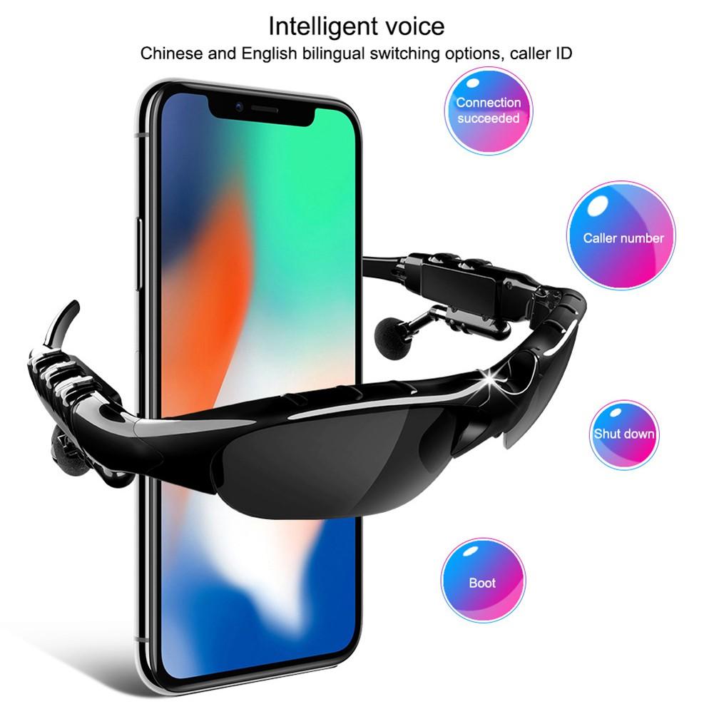 Kính Mát Phân Cực Kết Nối Bluetooth 5.0