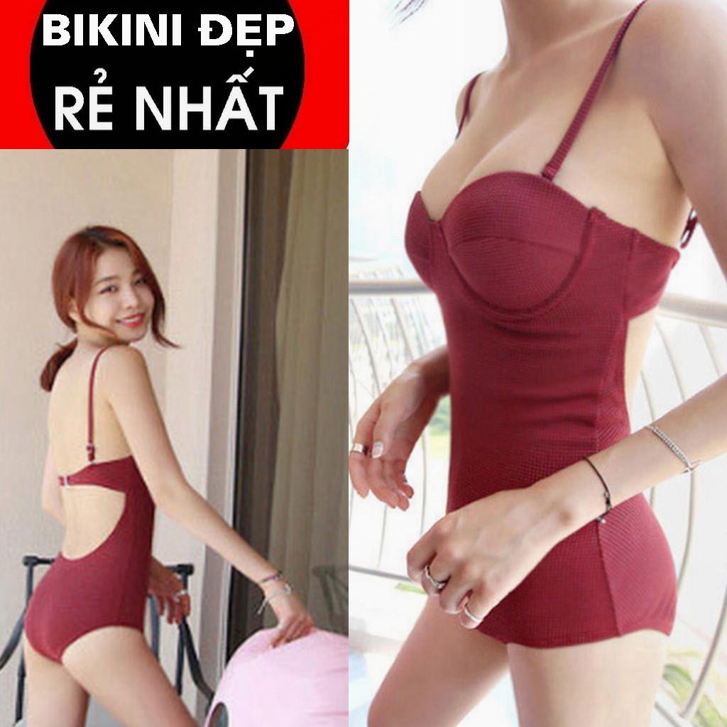 ĐỒ BƠI bikini NỮ đỏ mận rẻ đẹp | BigBuy360