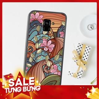 Ốp lưng Samsung Galaxy J6 2018 – J6 Plus – J8 2018 in hình họa tiết hoa .