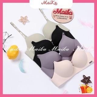 Áo lót su đúc không gọng nâng ngực cao không hằn mỡ, phụ kiện thời trang Maika