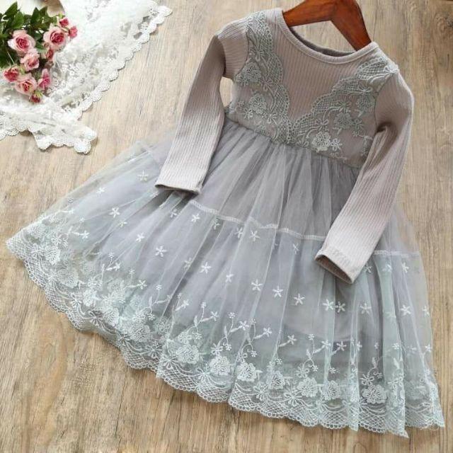 Váy ren cho bé size 10_30 kí