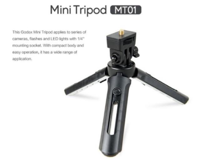 Gậy Tripod Support 3 MT01 Chân Xem Phim Có Thể Thay đổi Độ Cao